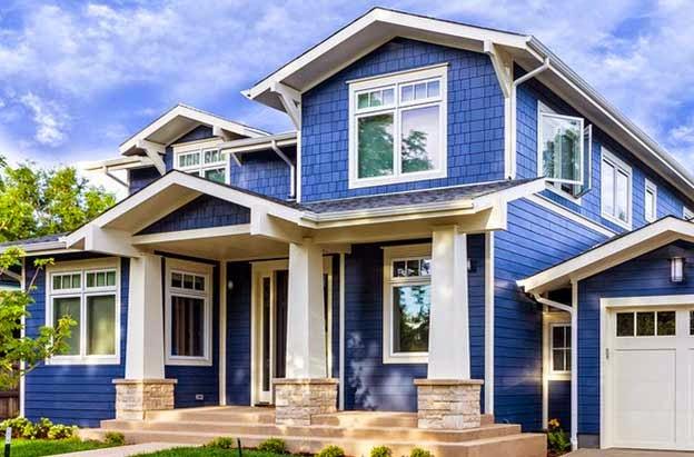 5 Ide Warna Cat Rumah Untuk Bagian Exterior