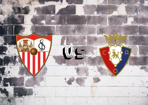 Sevilla vs Osasuna  Resumen