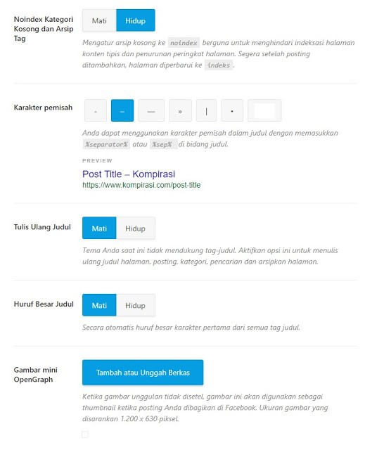 Cara Setting Plugin Rank Math Untuk Optimasi SEO WordPress
