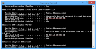 Cara Melihat Alamat Mac Addres s dari Wifi Anda, Ethernet di Windows