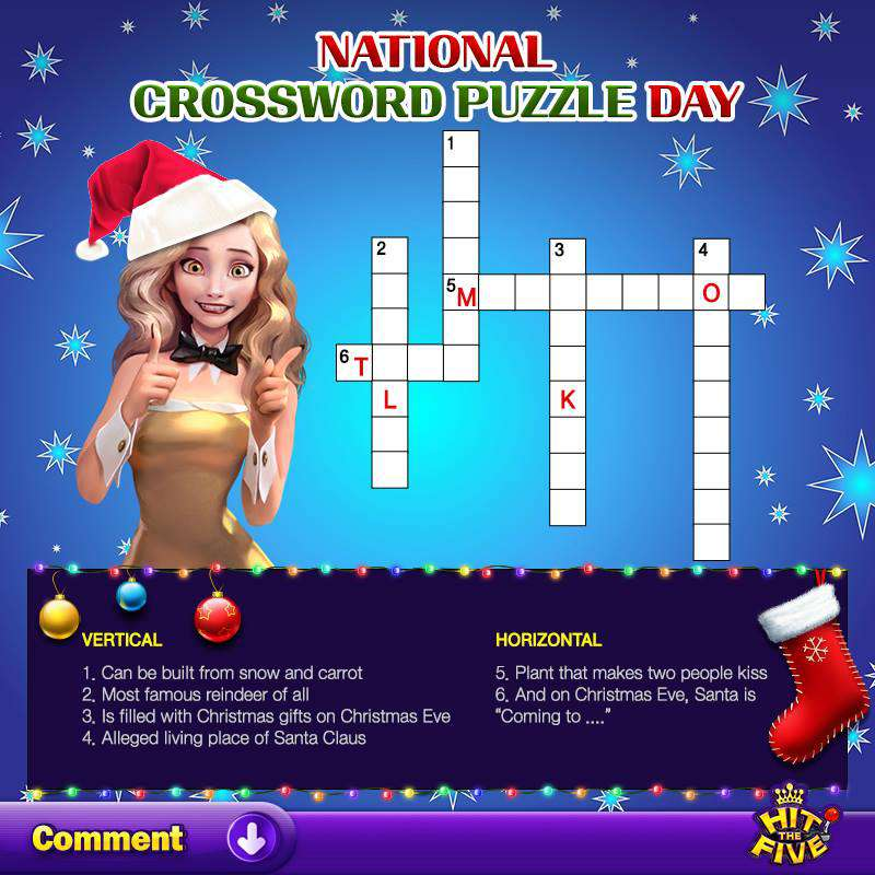 National Crossword Puzzle Day Wishes Images download