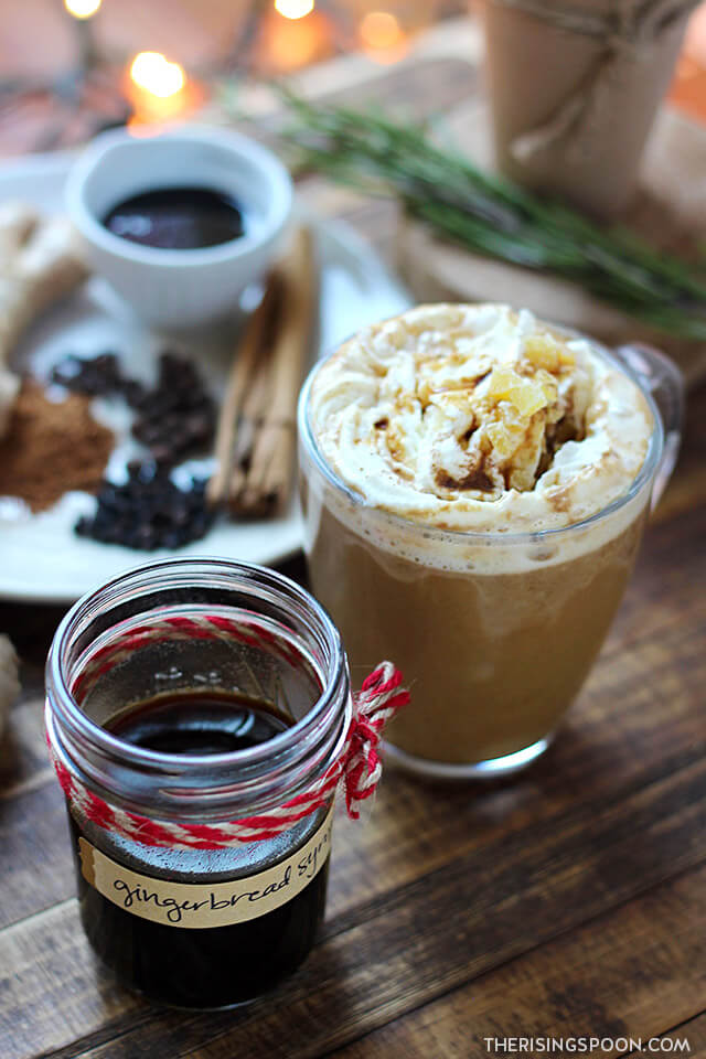 Gingerbread Syrup (Easy Homemade Food Gift)