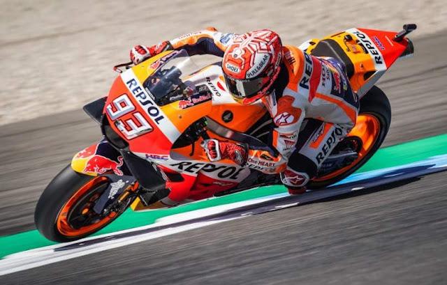 Marc Marquez Pole Position Motogp Assen Belanda 2018