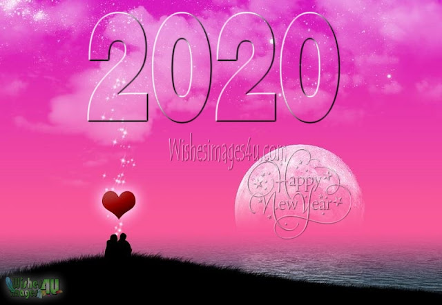 New Year 2020 Romantic Love Wishes Pics Download