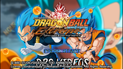 DBZ TTT Mod V17 (Español) & Menu Textures DB Extreme PPSSPP ISO Free Download & Settings