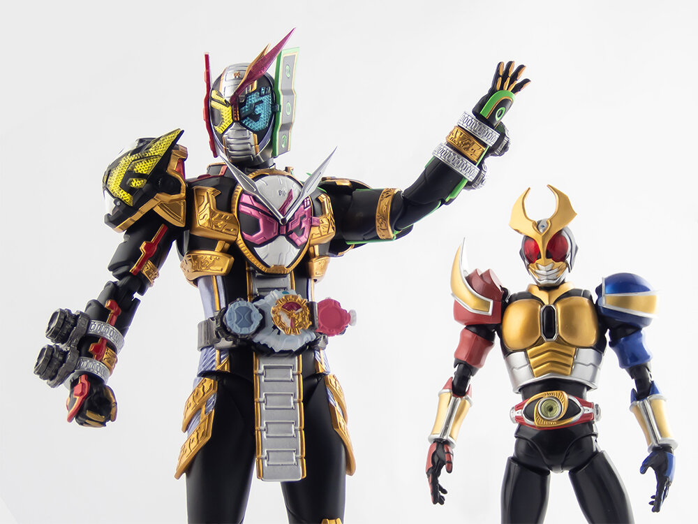 Bandai S.H.Figuarts Kamen Rider Zi O Woz Action Figure Masked Rider