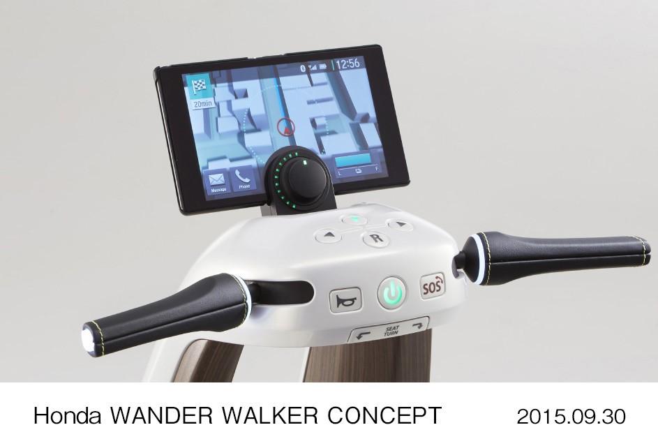 61922 Honda Wander Walker Concept Η Honda θα παρουσιάσει το S660, ενα λιλιπούτειο διθέσιο roadster με 63 άλογα από μολις 658 κ.εκ