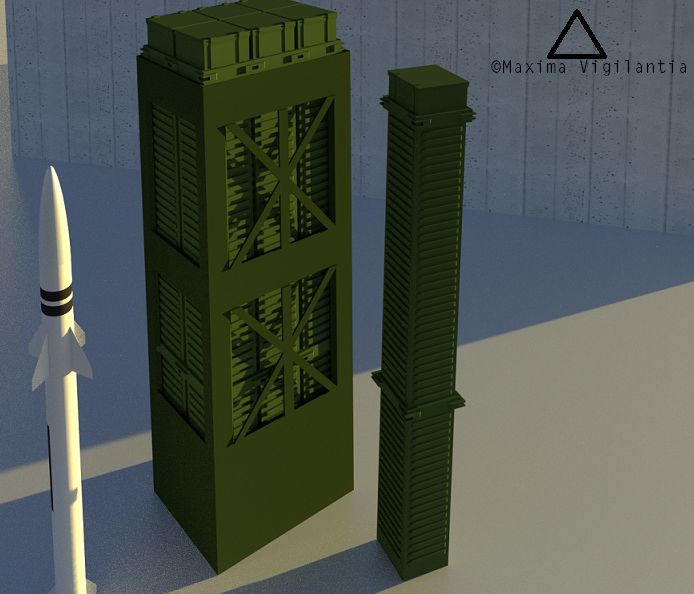 missile, silo, launch canister