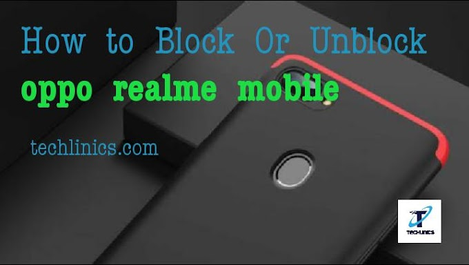 How to block or unblock number on Oppo and Realme Mobiles