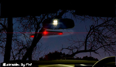 Triangular UFO Spotted Over, County Durham Village 4-14-18