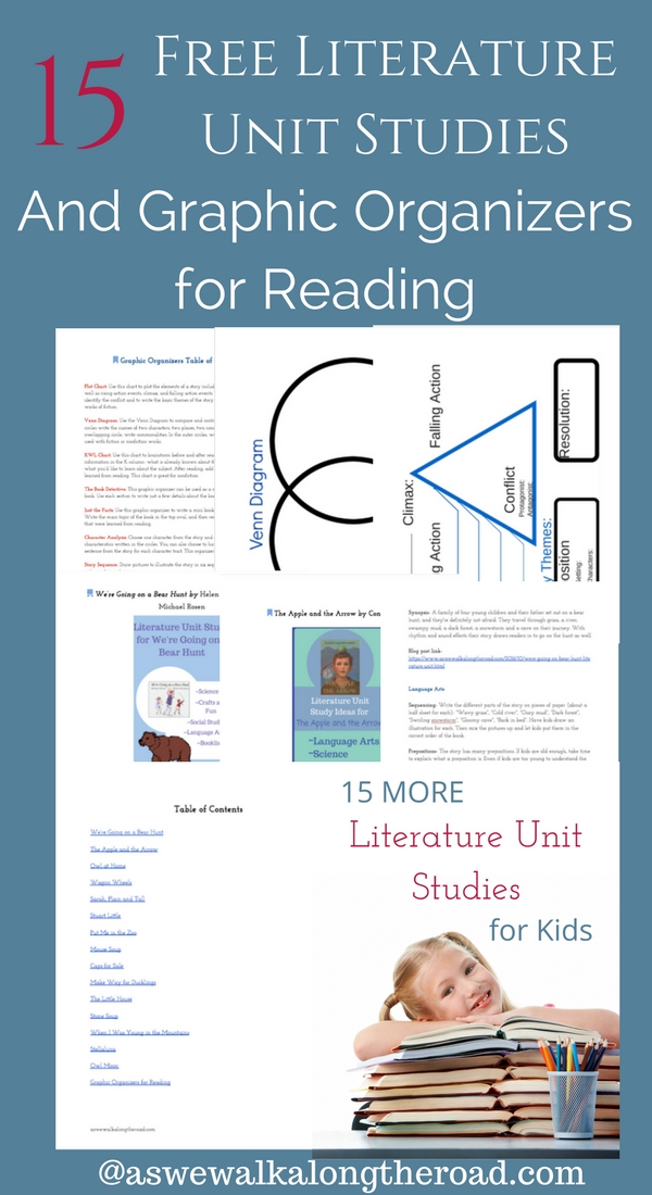 Free literature unit studies for kids