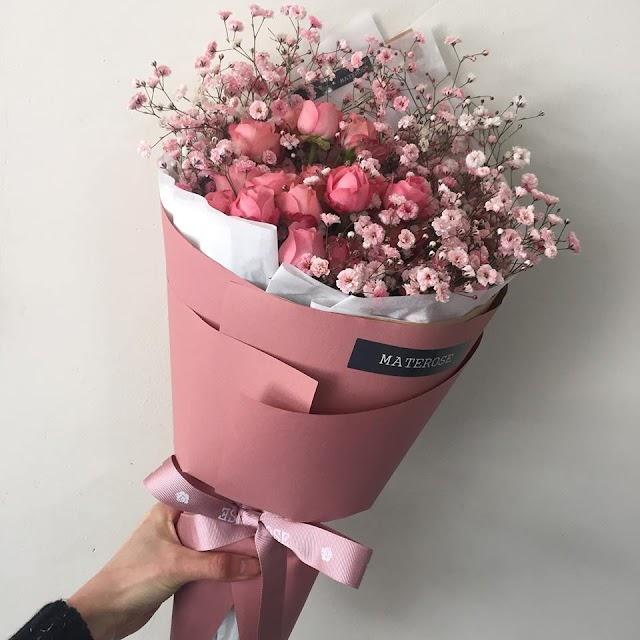 Gubahan Bunga Materose Yang Super Cantik!