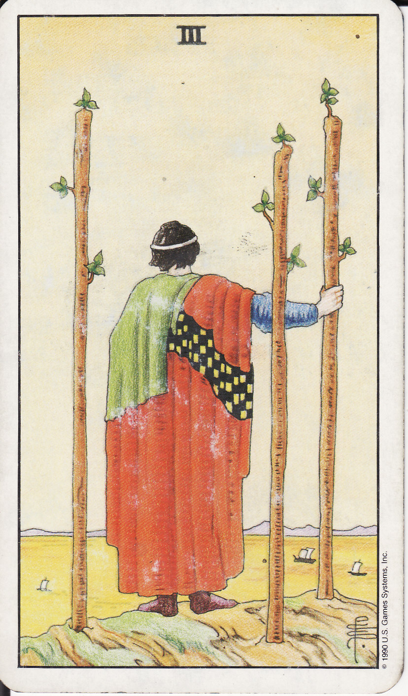 The Royal Road: 3 THREE OF WANDS III
