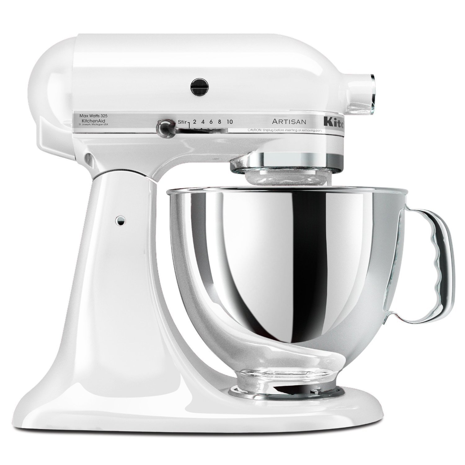 littlekitchenshop kitchenaid stand mixer artisan series 5 quart in black silver gray white. Black Bedroom Furniture Sets. Home Design Ideas
