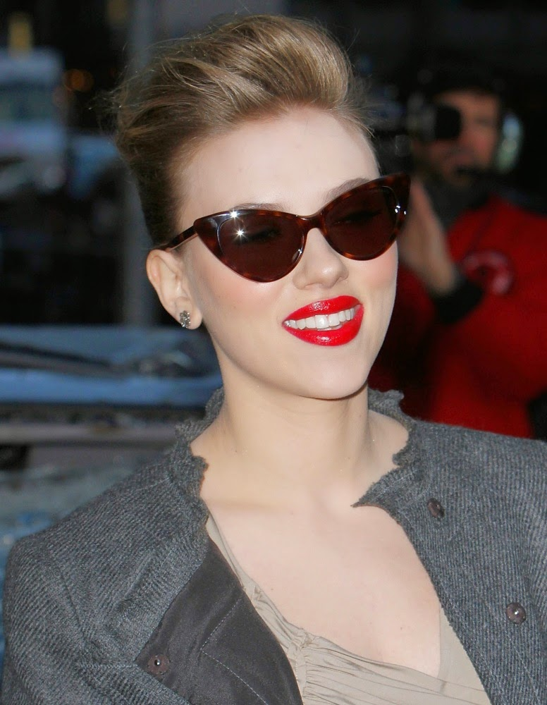 See The Celebrities Wearing Cat Eye Sunglasses
