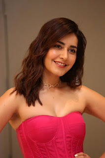 Indian Actress Rashi Khanna at Prathi Roju Pandage Movie Function (11)