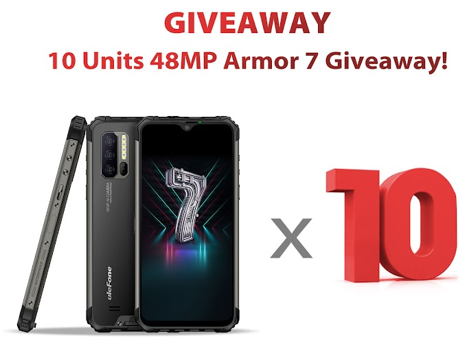 Ganhe um Smartphone Ulefone Armor 7