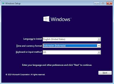 Cara Install Windows 10 - Setup WIndows 10