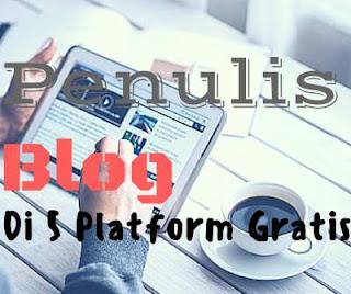 Situs untuk membuat blog Gratis