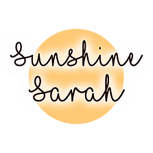Sunshine sarah blog logo