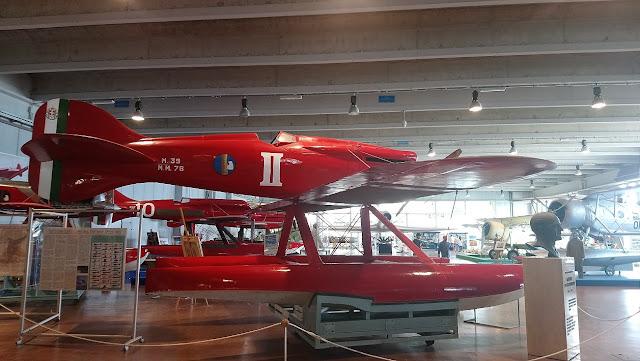 1/144 Macchi M-39 diecast metal aircraft miniature