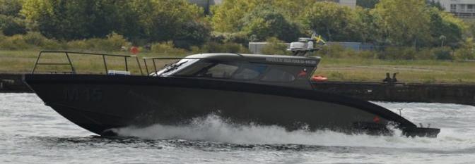 Volvo Penta і Marell побудували катер за участі України