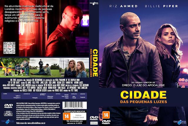 Capa DVD Cidade das Pequenas Luzes [Custom]