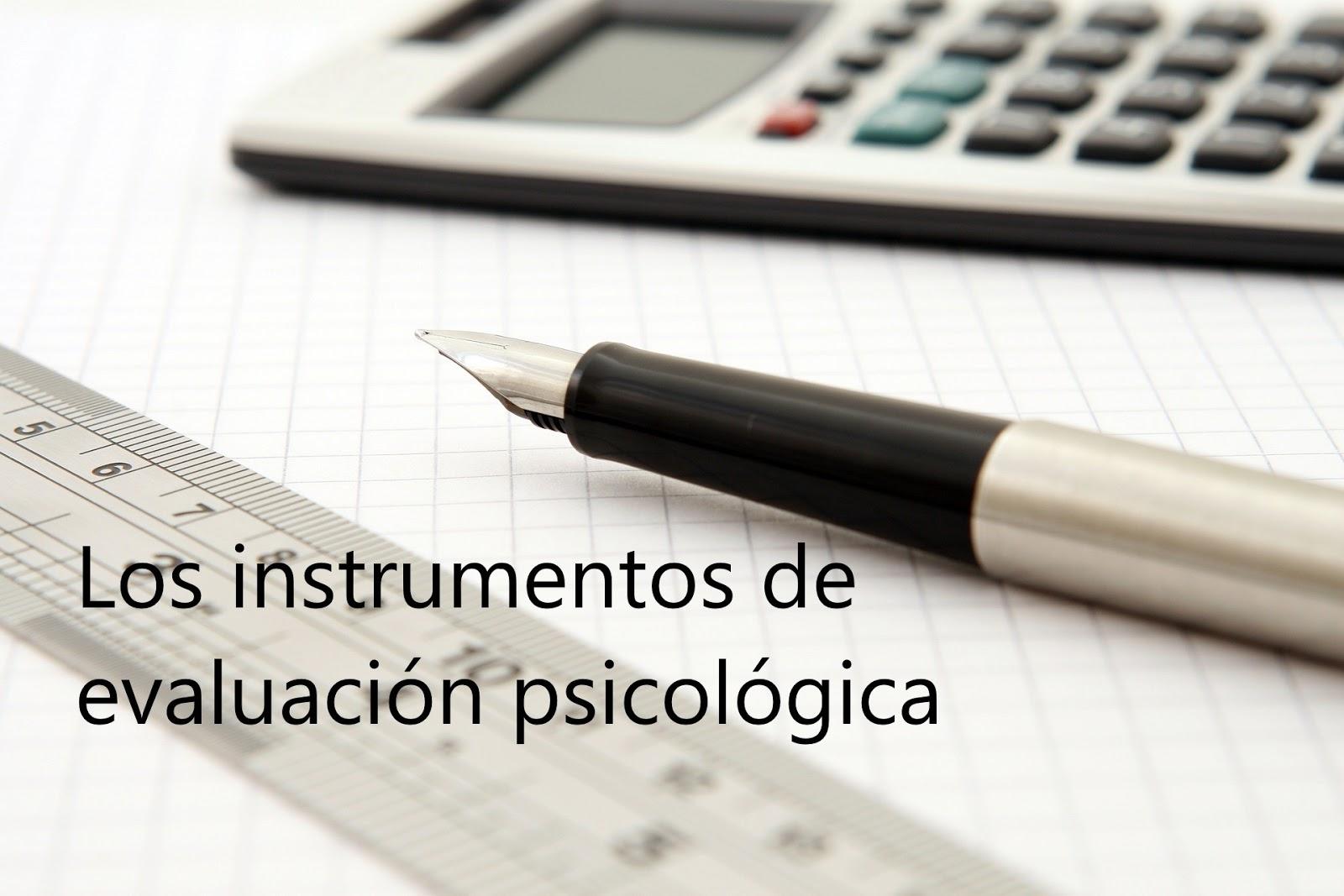 [PDF] Instrumentos de evaluación psicológica de Felicia Miriam González Llaneza.