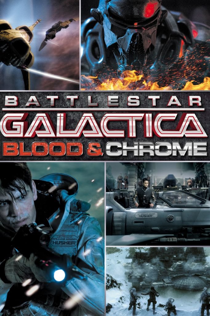 Battlestar Galactica: Blood and Chrome [2012] [DVDR] [NTSC] [Subtitulado]