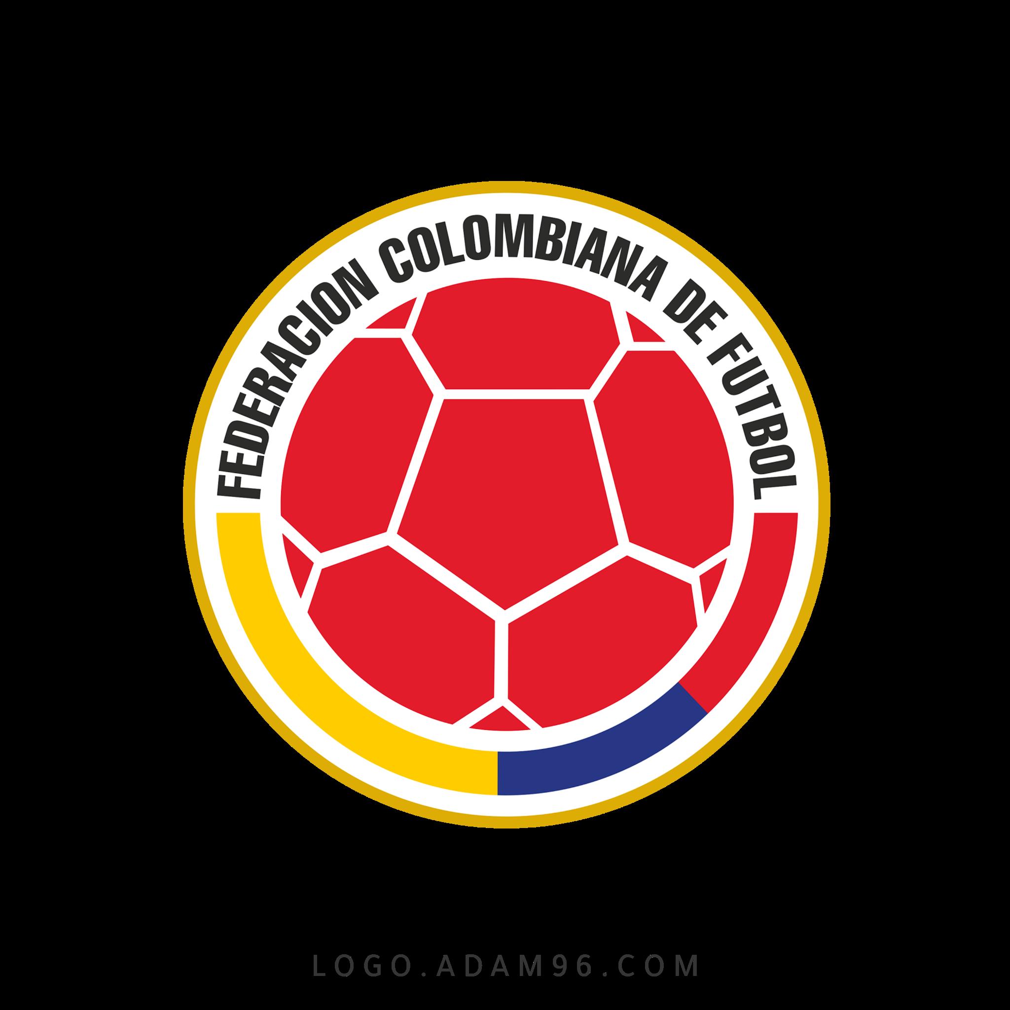 تحميل شعار منتخب كولومبيا لكرة القدم لوجو رسمي عالي الدقة بصيغة شفافة PNG