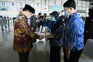 Atas Pengabdiannya Prajurit KRI Nanggala 402 Terima Anugerah Kehormatan RI Dan Kenaikan Pangkat Luar Biasa