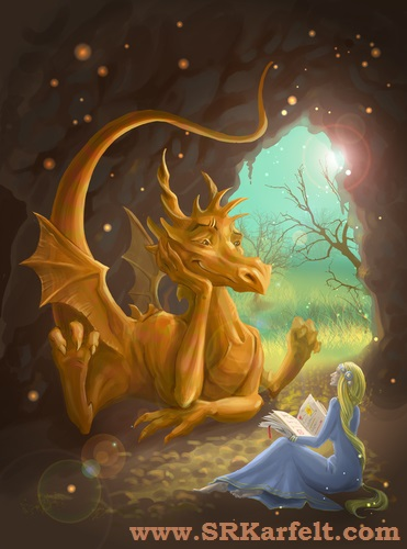 dragon book, dragon book author, Elle Katherine White