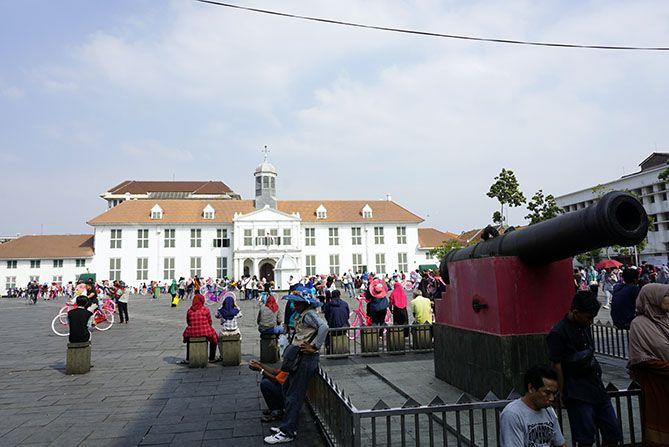 Si Jagur, Meriam di kawasan Kota Tua Jakarta