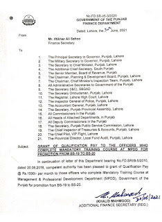GRANT OF QUALIFICATION ALLOWANC TO OFFICERS