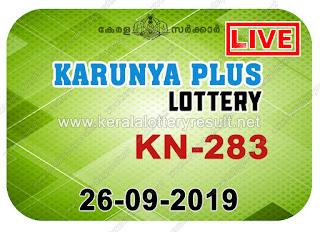 KeralaLotteryResult.net, kerala lottery kl result, yesterday lottery results, lotteries results, keralalotteries, kerala lottery, keralalotteryresult, kerala lottery result, kerala lottery result live, kerala lottery today, kerala lottery result today, kerala lottery results today, today kerala lottery result, Karunya Plus lottery results, kerala lottery result today Karunya Plus, Karunya Plus lottery result, kerala lottery result Karunya Plus today, kerala lottery Karunya Plus today result, Karunya Plus kerala lottery result, live Karunya Plus lottery KN-283, kerala lottery result 26.09.2019 Karunya Plus KN 283 26 September 2019 result, 26 09 2019, kerala lottery result 26-09-2019, Karunya Plus lottery KN 283 results 26-09-2019, 26/09/2019 kerala lottery today result Karunya Plus, 26/9/2019 Karunya Plus lottery KN-283, Karunya Plus 26.09.2019, 26.09.2019 lottery results, kerala lottery result September 26 2019, kerala lottery results 26th September 2019, 26.09.2019 week KN-283 lottery result, 26.9.2019 Karunya Plus KN-283 Lottery Result, 26-09-2019 kerala lottery results, 26-09-2019 kerala state lottery result, 26-09-2019 KN-283, Kerala Karunya Plus Lottery Result 26/9/2019