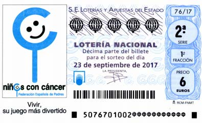 loteria nacional del sabado 23 de septiembre de 2017
