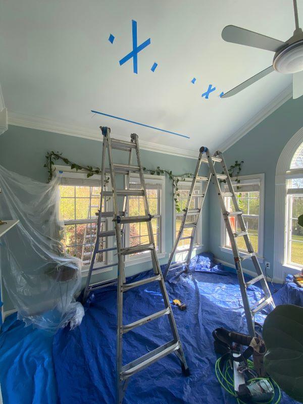 "Our New VELUX No Leak Solar Powered ""Fresh Air"" Skylights In The Sunroom-designaddictmom"
