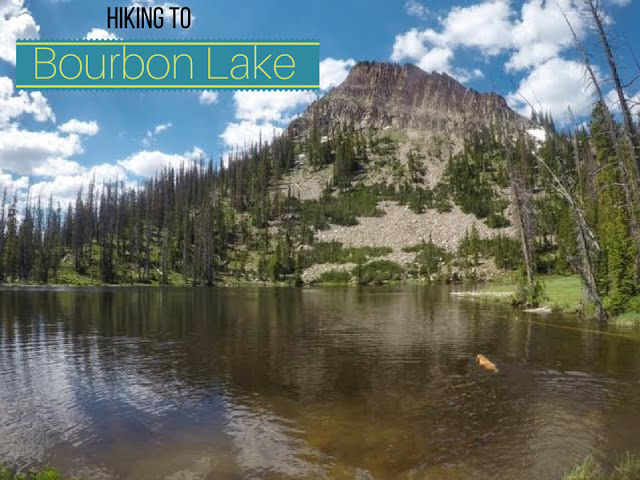 Hiking to Bourbon Lake, Uintas