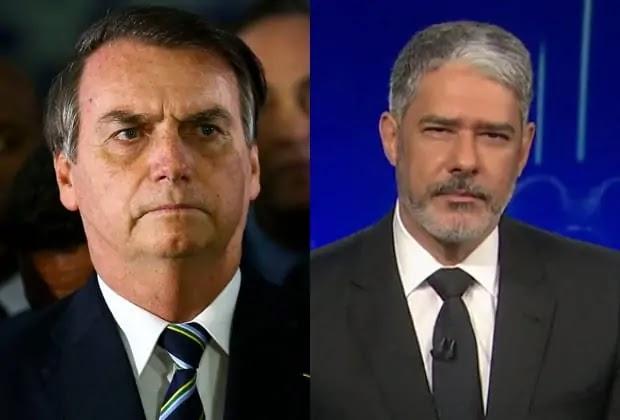 Bolsonaro ironiza a Globo e manda doentes com Covid procurarem William Bonner