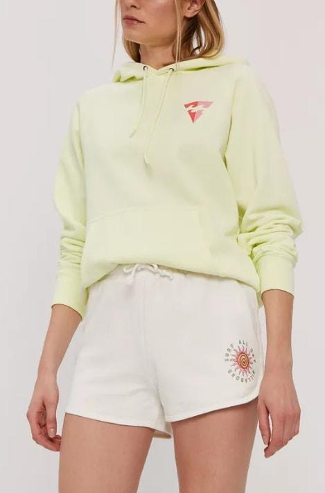 Billabong - Pantaloni scurti albi pentru femei