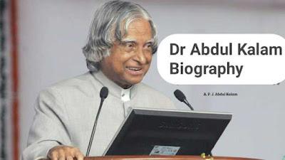 Biography of Abdul kalam
