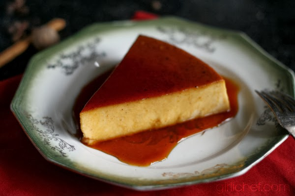 <b>Spiced Pumpkin Rum Flan</b> #CaptainsTable