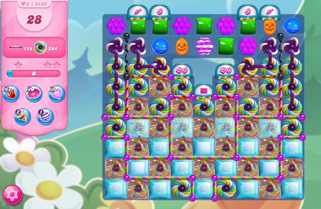 Candy Crush Saga level 8132