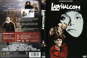Carátula Dvd: Lady Halcón 1985
