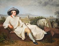 Goethe in der Campagna gemalt Tischbein