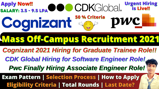 CDK Global Off Campus Drive 2021