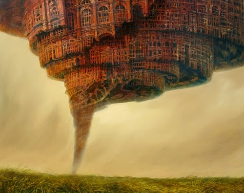 22-Tornadopolis-Marcin-Kołpanowicz-Painting-Architecture-in-Surreal-Worlds-www-designstack-co