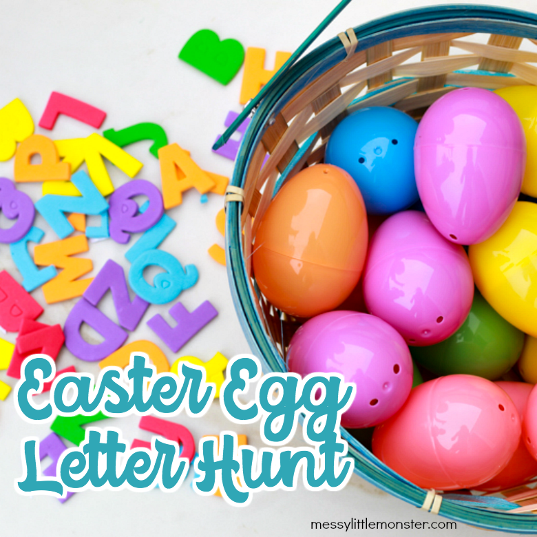 Easter egg letter hunt