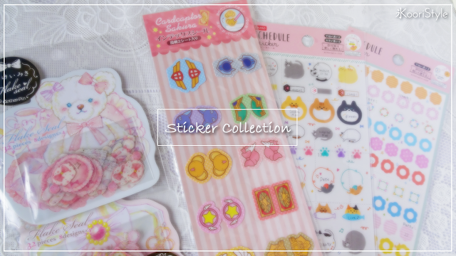 KooriStyle, Koori, Style, Cute, Kawaii, Sticker, Collection, Haul, Colección, Calcomanías, Pegatinas, Japan, Japón, Happy, Mail, Hello, Kitty, Sakura, Card, Captor, Pastel, Sailor, Moon, Planner, Stationery, Agenda