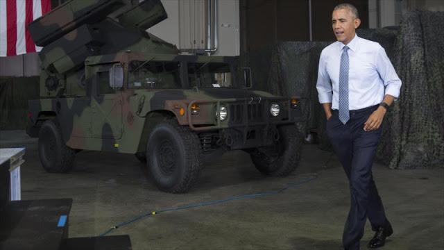 Obama: EEUU no contempla ser policía en Oriente Medio y África